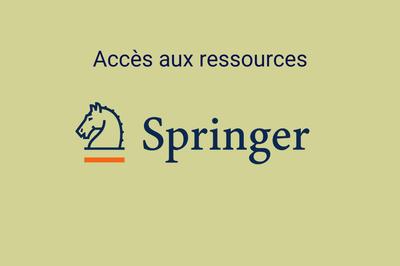 Accès aux ressources Springer