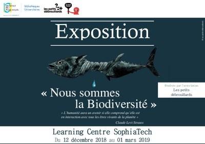 [Exposition] « Nous sommes la Biodiversité » par Les petits débrouillards