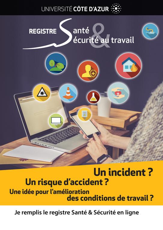 Registre santé et sécurité au travail