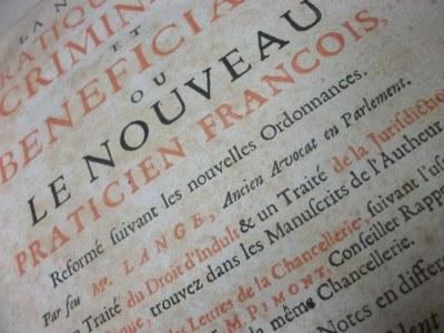 Bibliothèque patrimoniale de Droit